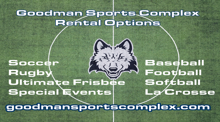 Rent Space At The Goodman Sports Complex